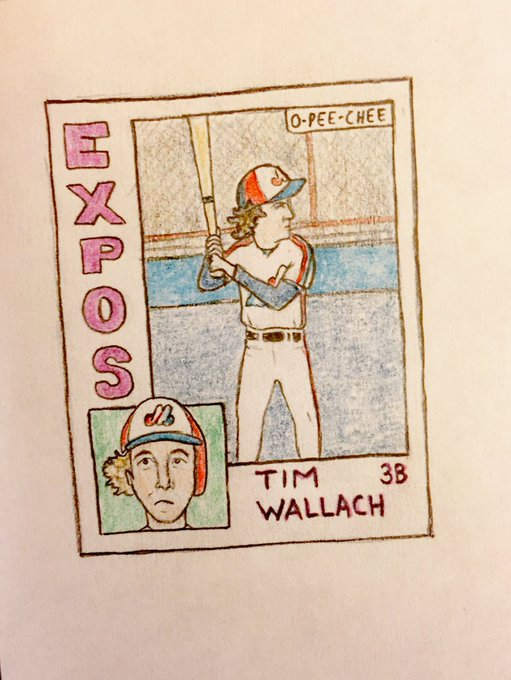Wishing a very happy 60th birthday to Tim Wallach!