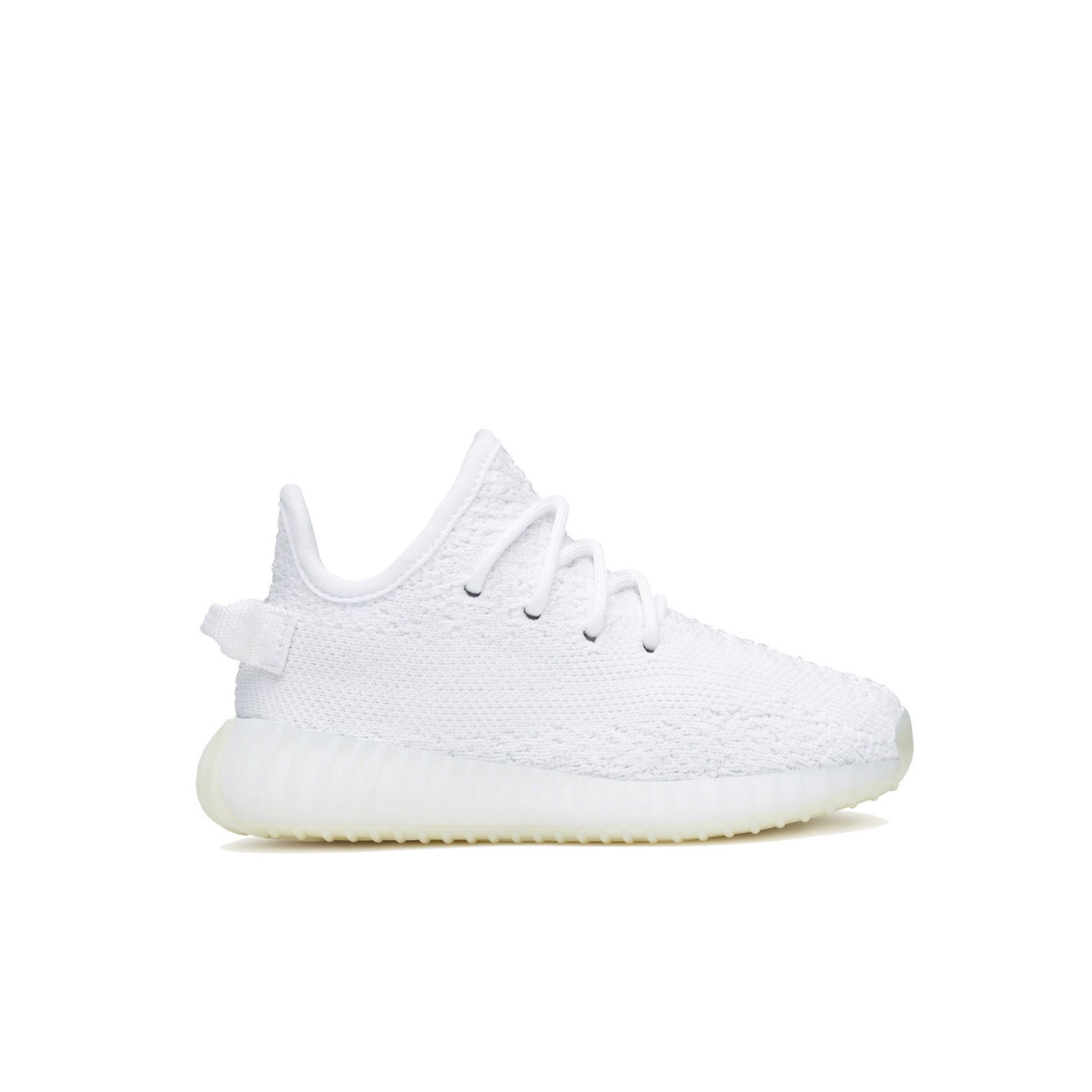 All white Yeezy 350's sizes toddler 5-10 available on https://t.co/BlGB6KQnnV dropping next week https://t.co/sZDQt4Y2DF