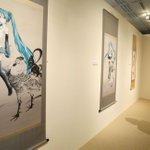Japanese pop icons and traditional paintings mingle in a mash-up exhibition