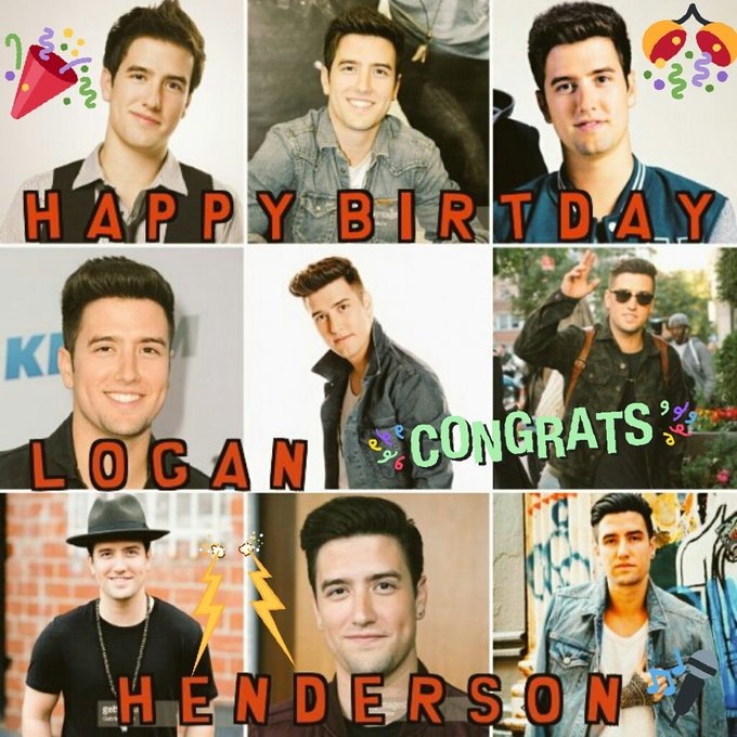 Happy Birthday Logan Henderson!!!!!!!