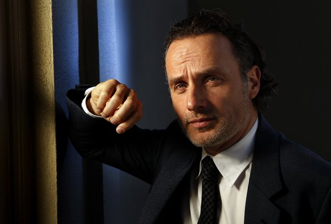 Happy birthday to Andrew Lincoln, absolutely one of the finest actors around. What a guy. Simply the best.