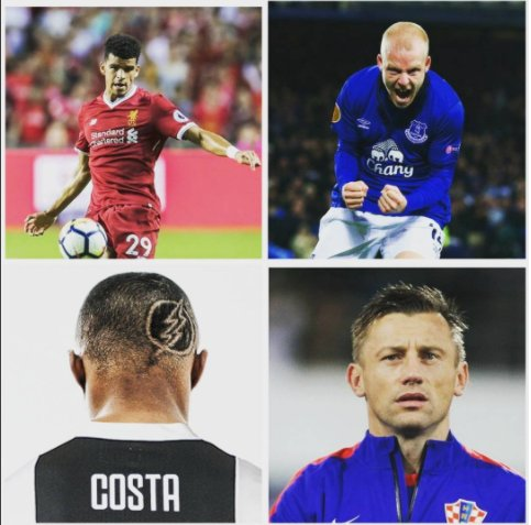 Dominic Solanke , Steven Naismith, Douglas Costa, Ivica Olic wishing all of them a very Happy Birthday