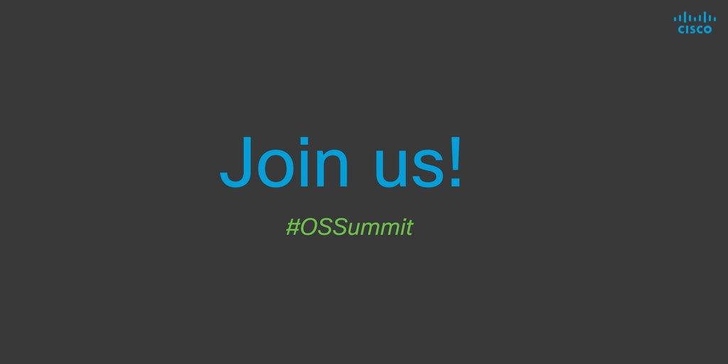 #OSSummit