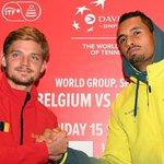 Tennis, Coppa Davis, le semifinali: Belgio-Australia e Francia-Serbia