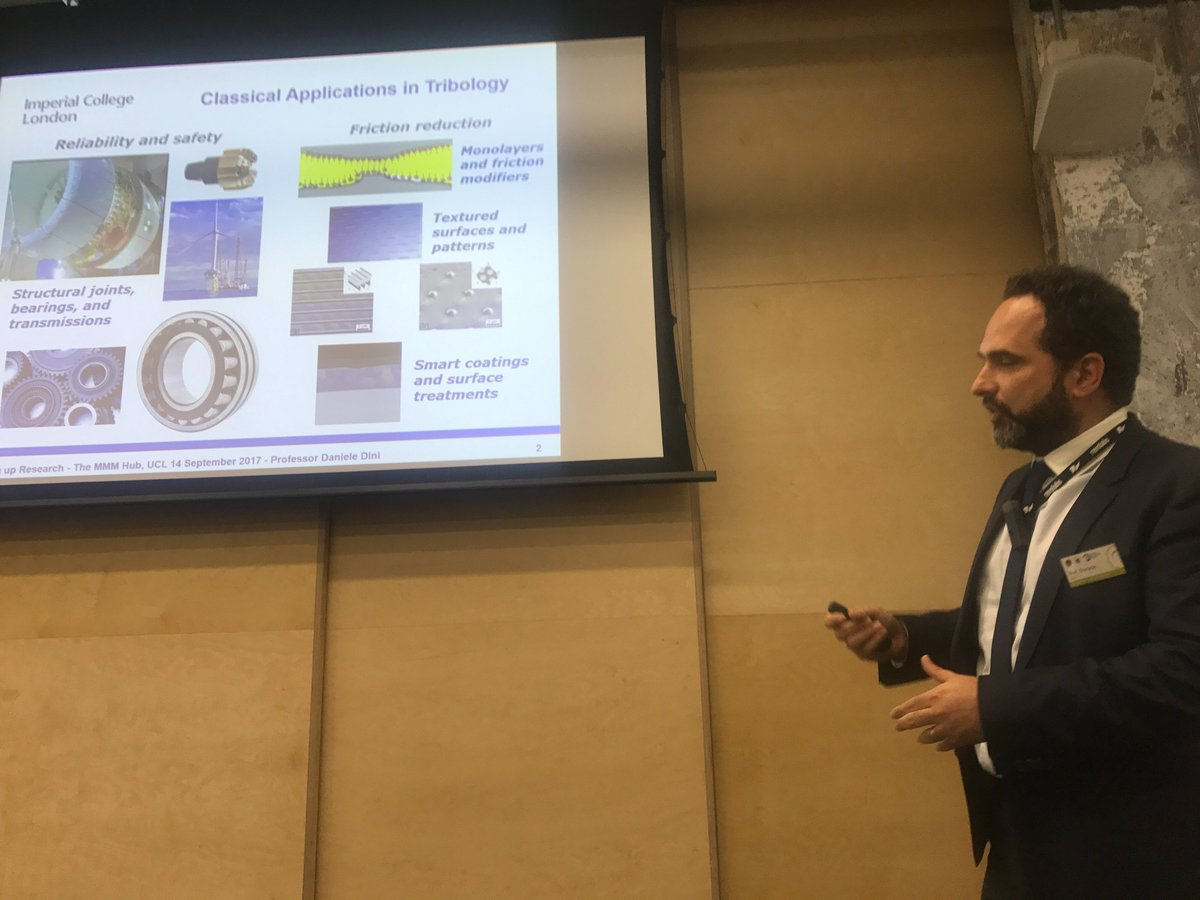 test Twitter Media - It's thanks in some part to #tribology that we can fly safe: Prof. Daniele Dini gives us an intro at #PoweringUpResearch. https://t.co/uG8oKn8TyC