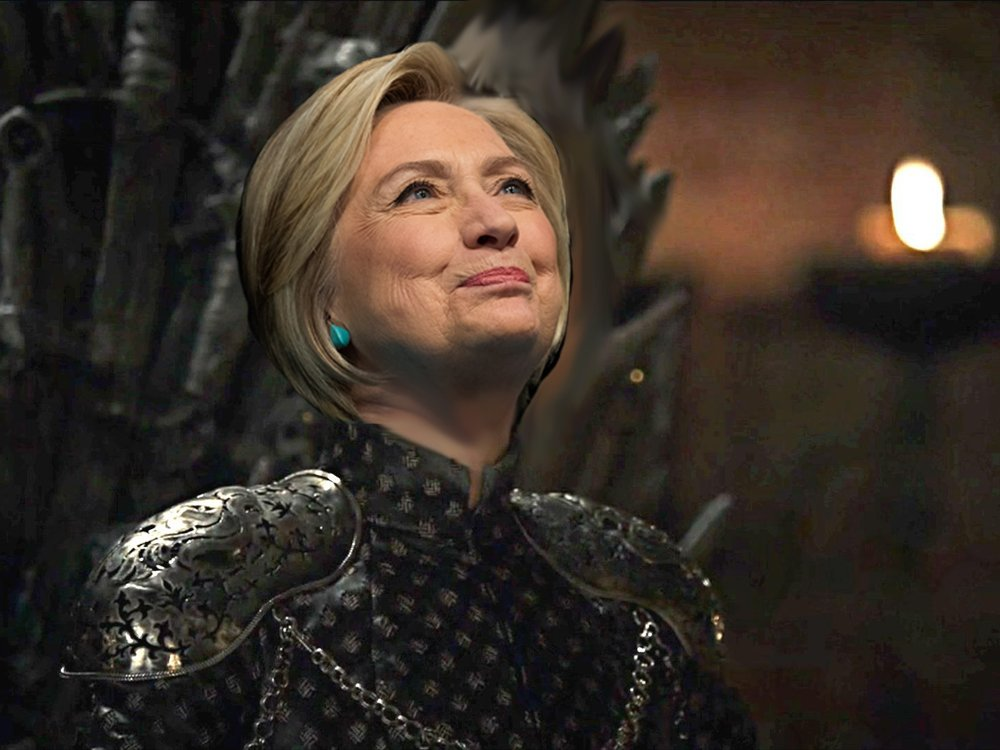 Hillary Clinton compares herself to Cersei Lannister from Game of Thrones, natch via @nparts