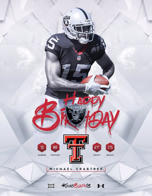 Happy Birthday, Michael Crabtree!