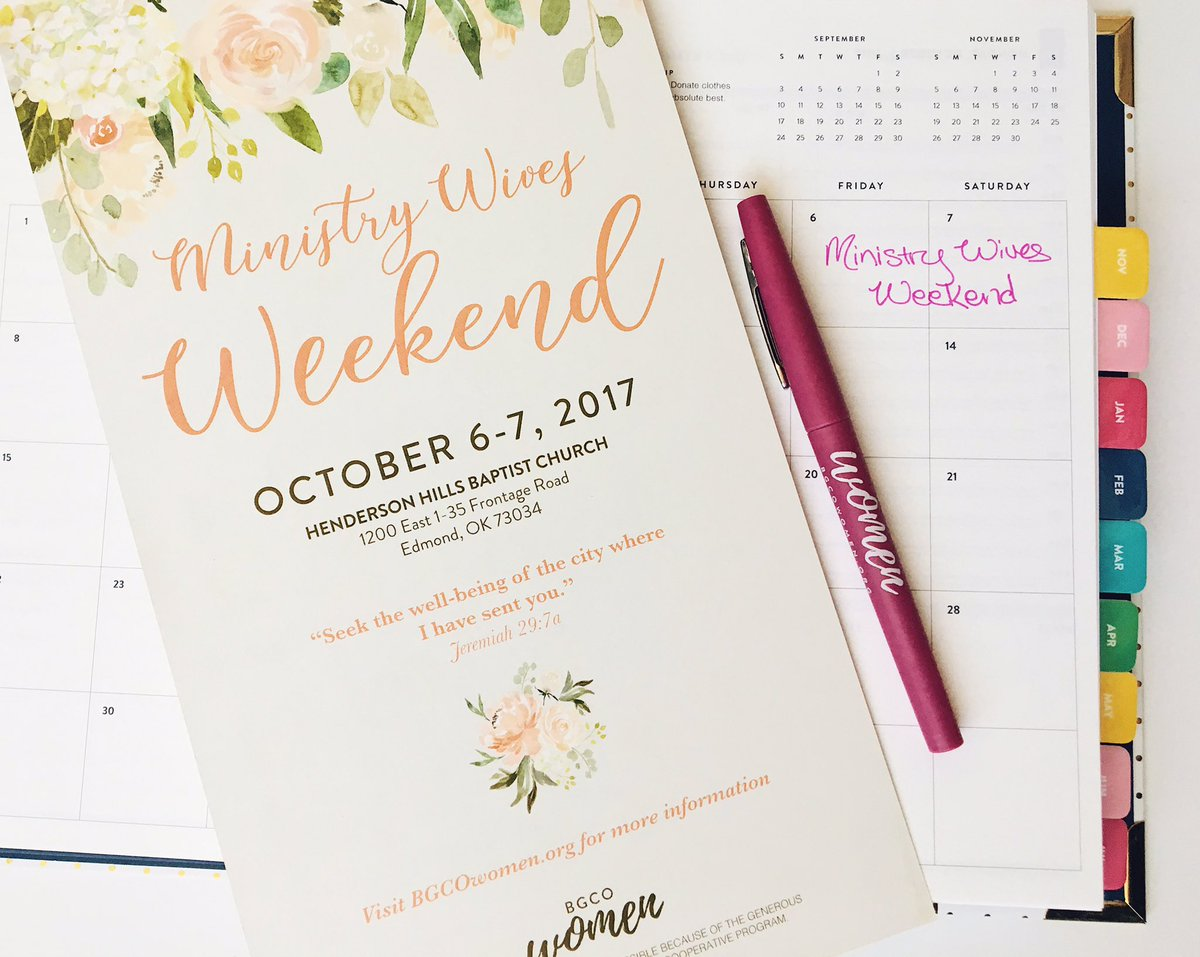 test Twitter Media - Ministry Wives! Make plans to join us for the Ministry Wives Weekend Oct 6-7! The deadline is Sept 27. More info at https://t.co/tTYrSgB1Ht https://t.co/NCz4qagOVI
