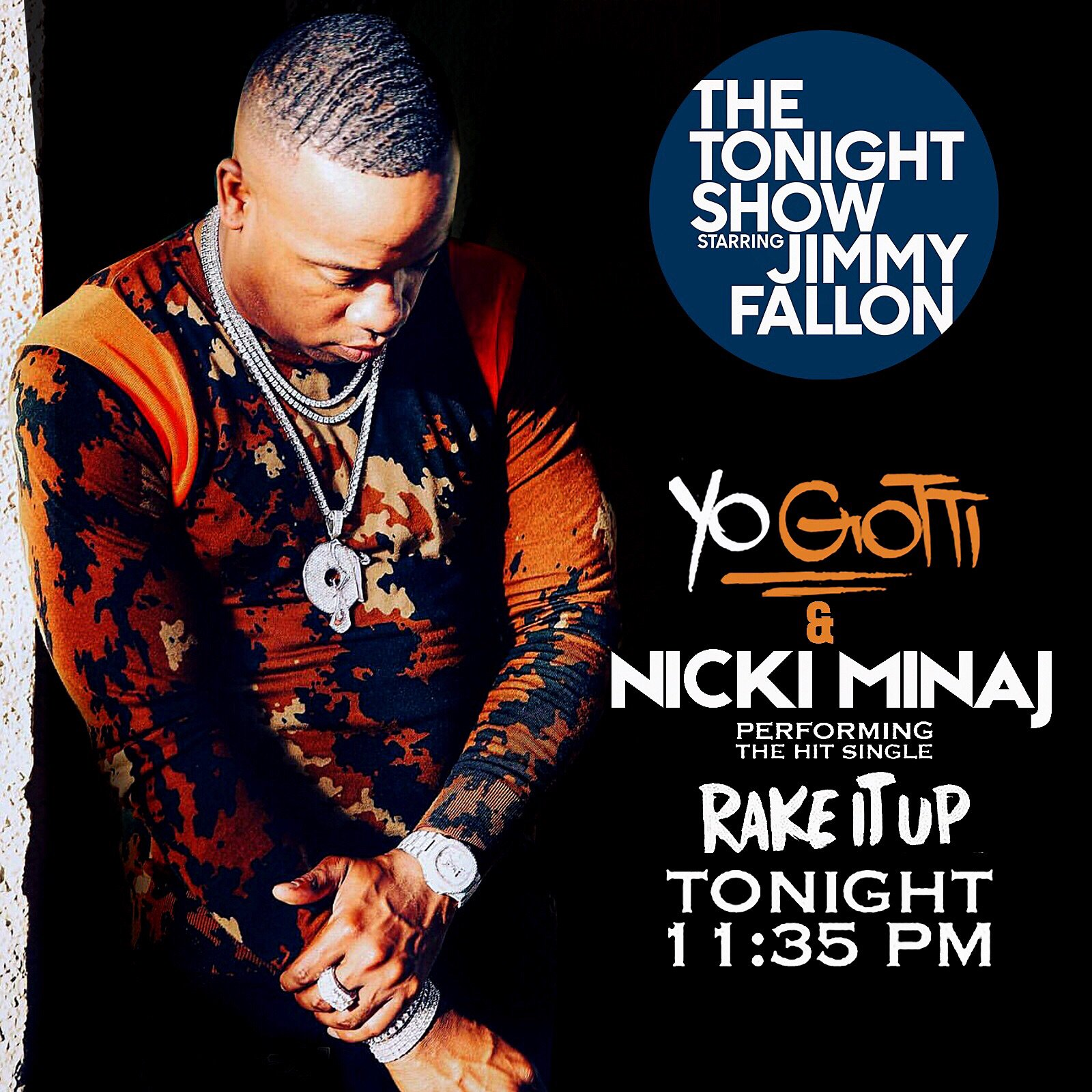 WATCH ME ON @JimmyFallon Tonight / @Nickiminaj ������ https://t.co/Fn0lBMsBKF