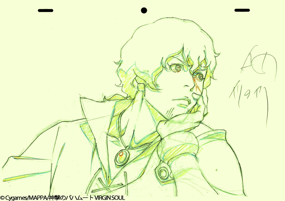『神撃のバハムート VIRGIN SOUL』今週も総作画監督の絵を大公開!#22 は羽山さん、羽田さん、恩田さんに担当し