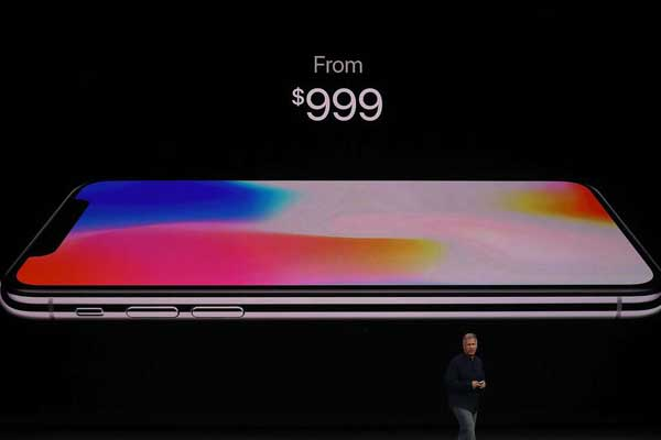 Apple rolls out its much anticipated iPhone X