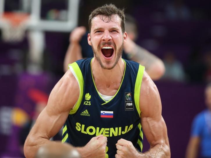 Basketball: Sharp-shooting Slovenia shock Spain in Eurobasket semi