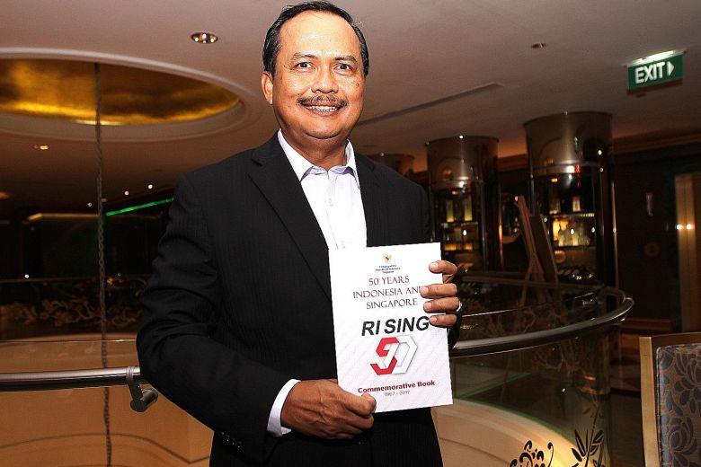 Book commemorates 50 years of Indonesia-Singapore ties