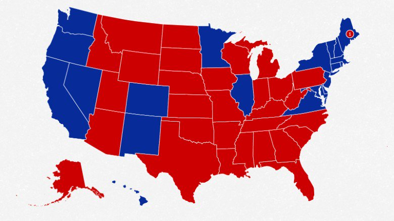 Sorry, Hillary Clinton. The Electoral College isn't going anywhere, writes @CillizzaCNN