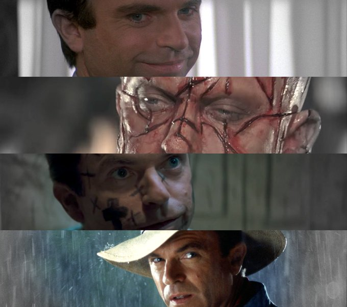 Good, bad and just plain crazy!  Happy 70th Birthday to Sam Neill - ... (Martyn)