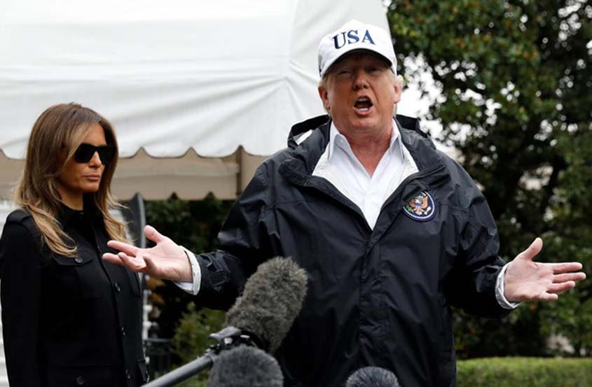 Trump to visit hurricane-ravaged Florida