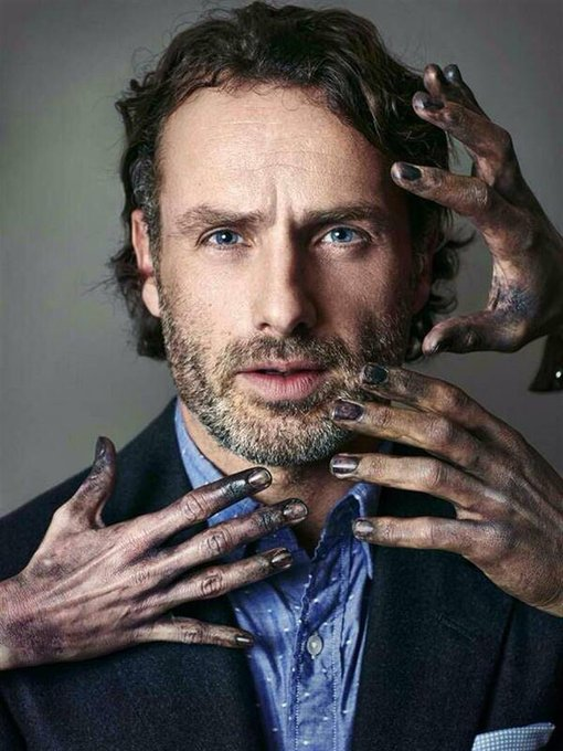 Happy birthday to the second love of my life Andrew Lincoln (AKA Rick Grimes)