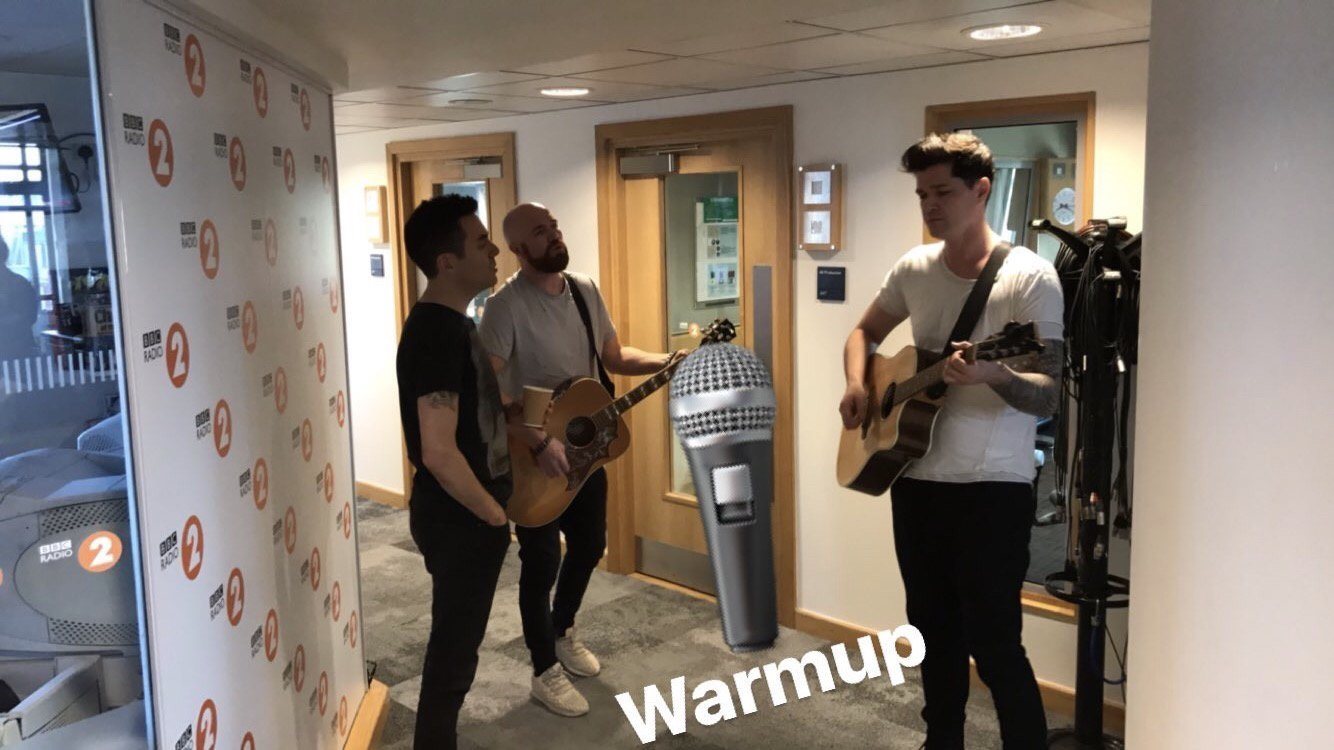 About to perform on @BBCRadio2! Tune into @achrisevans now!! https://t.co/Nxzmj0xrdQ https://t.co/01c9UtgoiB