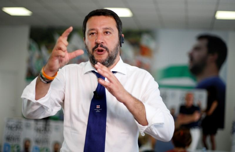 Italy's Northern League criticizes magistrates after bank accounts frozen