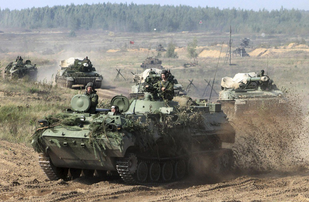 Russia kicks off huge war games on Europe's borders