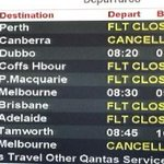 Strong winds leave Melbourne travellers stranded at Sydney airport