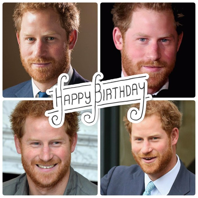 Wishing a very happy birthday to Prince Harry today.  Help us celebrate him.