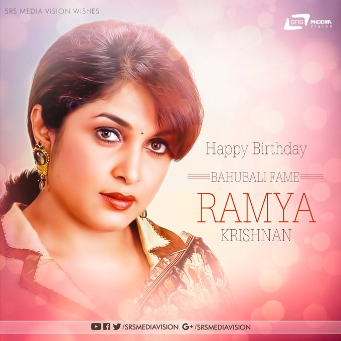 Wishing Ramya Krishnan a Very Happy Birthday !!!