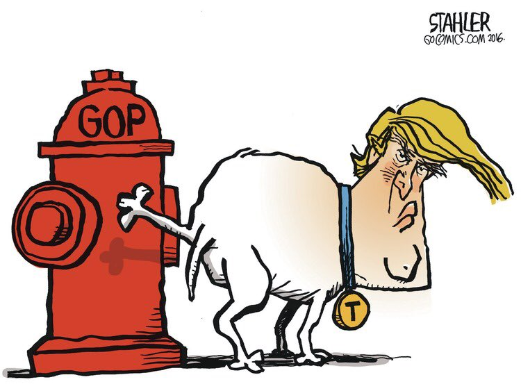 Donald Trump's G. O. Pee. https://t.co/NPdoli39ng