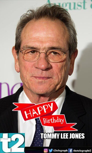 T2 wishes a very happy birthday to the man who never fails to create magic on screen... Tommy Lee Jones!