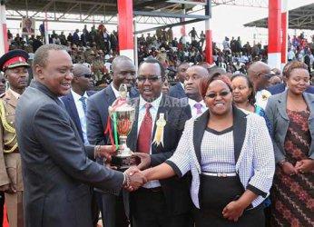 Central Kenya leaders meet President Uhuru Kenyatta at Sagana State Lodge