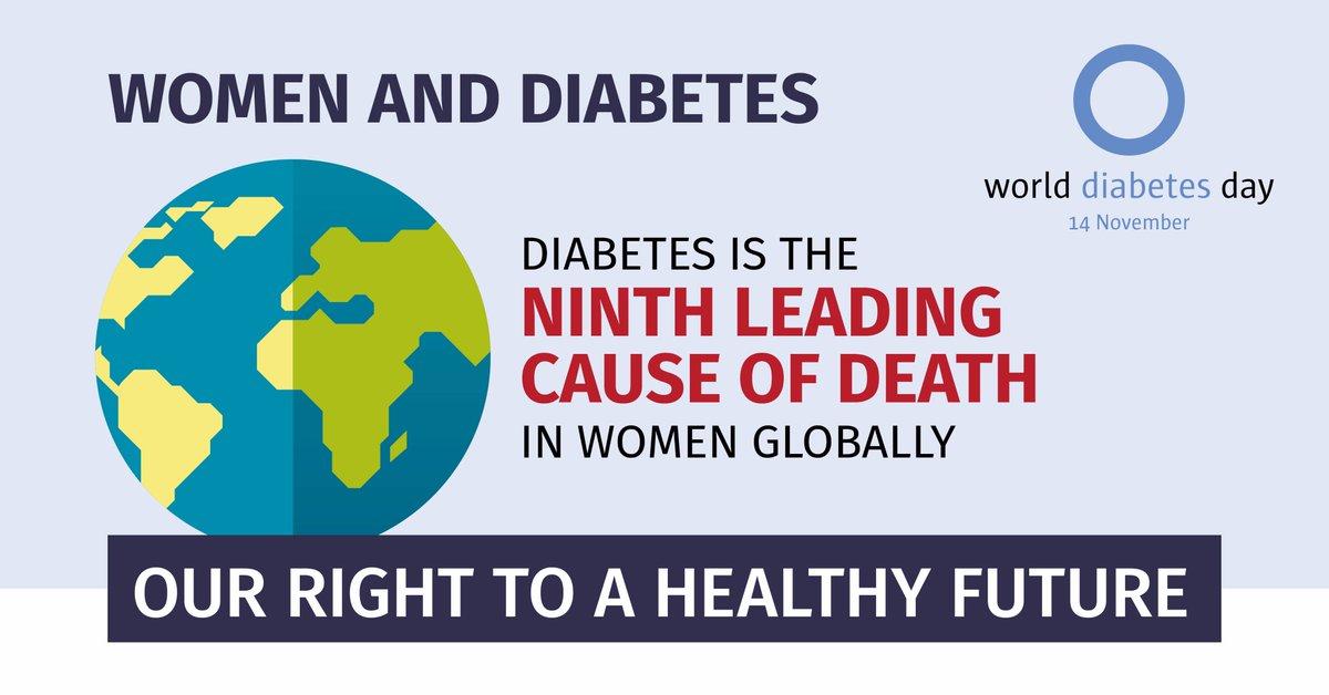 test Twitter Media - #Diabetes is the ninth leading cause of death in women globally, causing 2.1M deaths per year. #Women&diabetes #WDD https://t.co/zVGkES2PBD https://t.co/LI78j0CE18