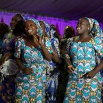 Celebrations as Nigeria's 'Chibok girls' reunited with families