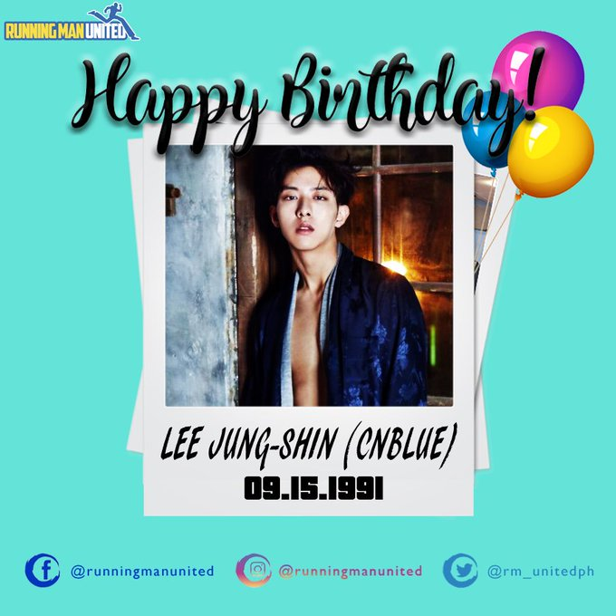 Happy Birthday Lee Jung-shin!