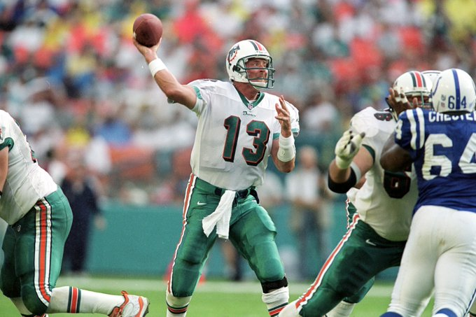 Happy birthday to and Miami Dolphins legend Dan Marino, the quarterback turns 56 today!