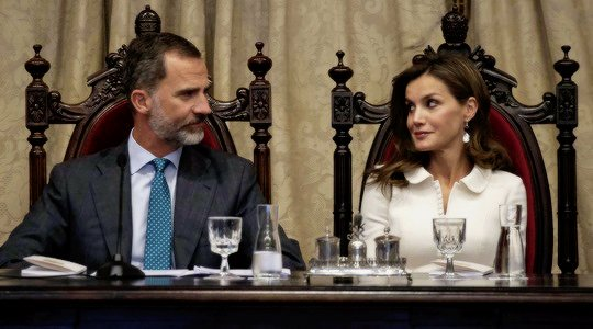 Happy birthday 45 years Queen Letizia of Spain!