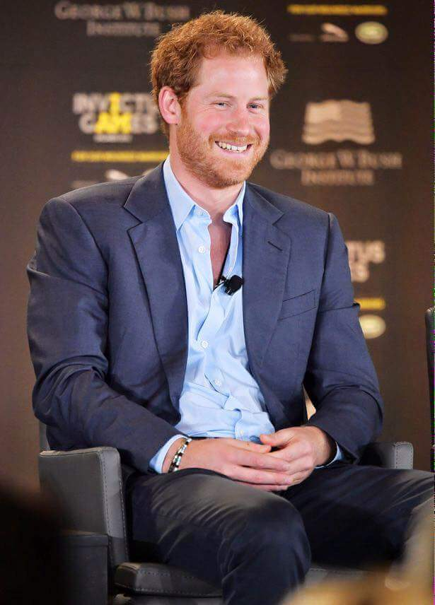 Wish you A Happy Birthday Prince Harry!