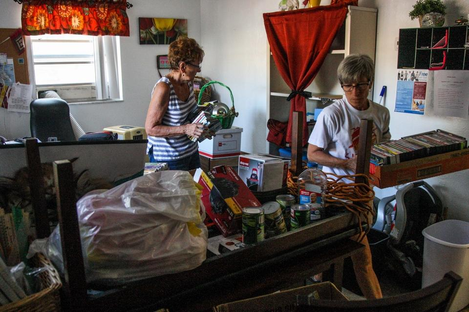Irma spurs need for donations, temporary housing