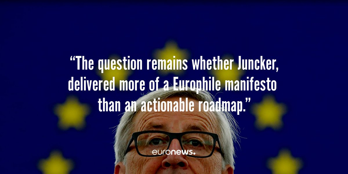 Juncker brings positivity to Europe but is it just a nice dream?