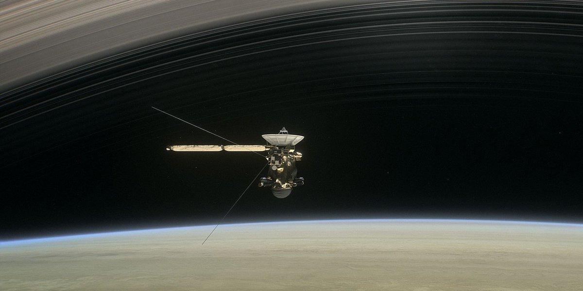 Live stream: Cassini spacecraft sends final images before death plunge