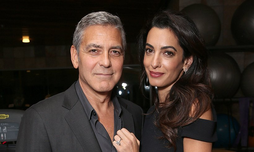 George Clooney has spoken about fatherhood: 'I cry four times a day right now'