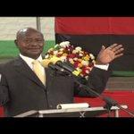 President Museveni installs Prof. Nawangwe as MAK VC