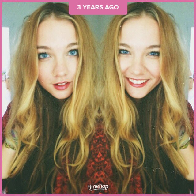 Look dis. 3 years ago. Do you feel I look different? Look how long my hair was!!! https://t.co/UbAAV