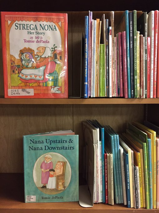 Happy birthday to Tomie dePaola! So many great books!
