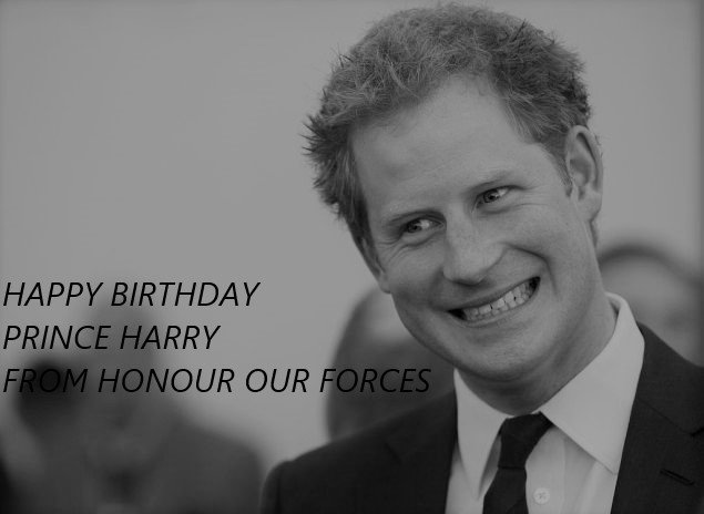 Wishing Happy 33rd birthday Prince Harry