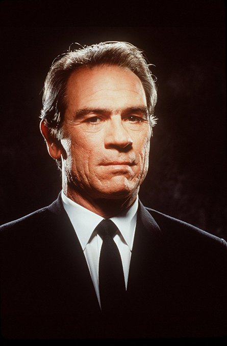 "Happy Birthday to the talented Tommy Lee Jones (71) in ""The Fugitive - Samuel Gerard\"""