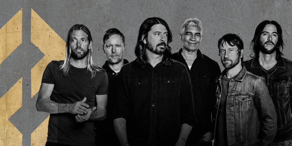 #ConcreteandGold is unlocked. Listen to @foofighters new album  now. https://t.co/jQEFqOHXbz https://t.co/E8YJPg79kz