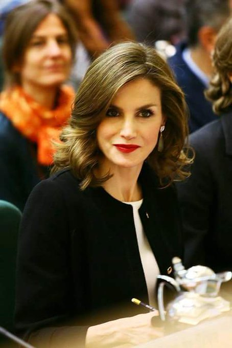Happy 45th birthday to Her Majesty Queen Letizia of Spain.