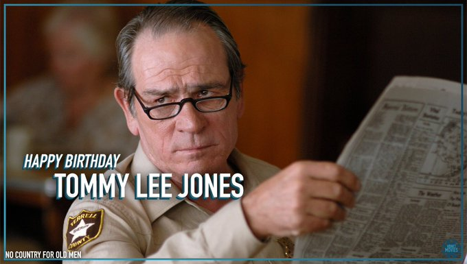This could be our favorite look from Tommy Lee Jones . Wishing him a Happy 71st Birthday!
