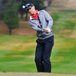Canberra golfer Brendan Jones has round delayed by North Korean missile launch