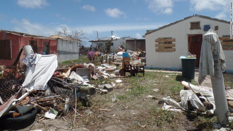 For first time in 300 years, no one is living on Barbuda
